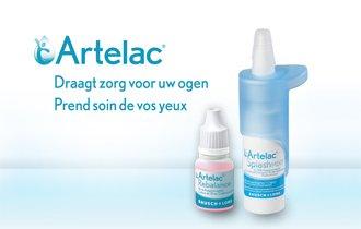Artelac, draagt zorg voor uw ogen →