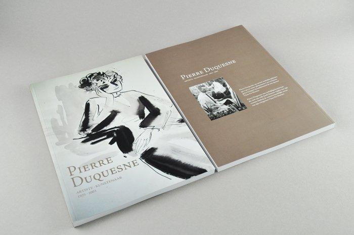 cover kunstkatalogus Pierre Duquesne