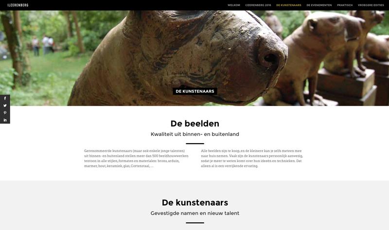 Website IJzerenberg 2016