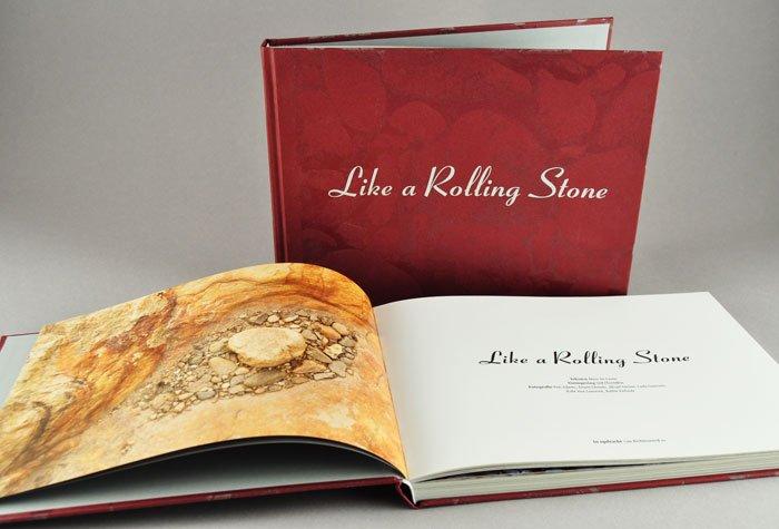 boekontwerp Like a Rolling Stone