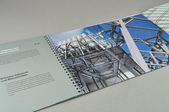 grafisch ontwerp bedrijfsbrochure