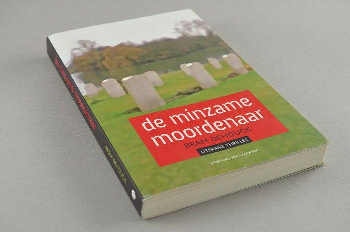 cover de minzame moordenaar uitgeverij Van Halewyck